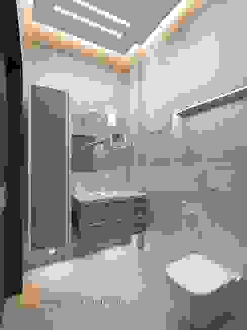Bathroom by Студия Павла Полынова,