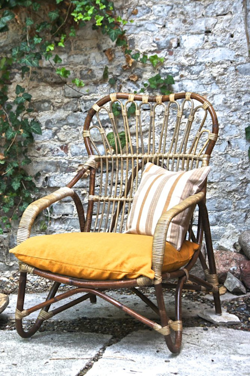 eclectic  by Bohème Living, Eclectic Rattan/Wicker Turquoise