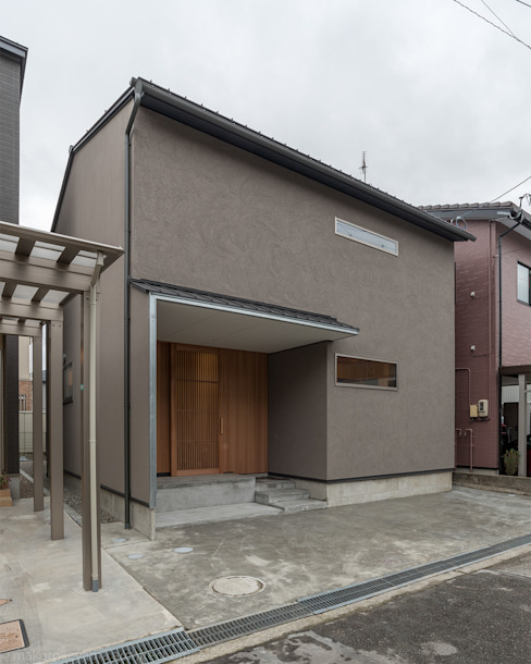 家山真建築研究室 Makoto Ieyama Architect Office Case in stile minimalista