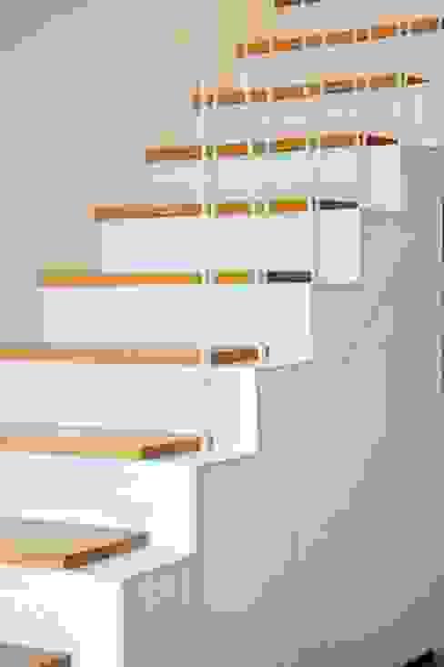 ทางเดินสไตล์คลาสสิกห้องโถงและบันได โดย BONBA studio คลาสสิค
