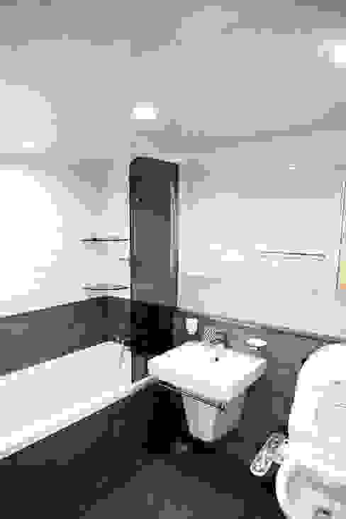일원동 목련타운 38PY 스칸디나비아 욕실 by dezainsoul 북유럽