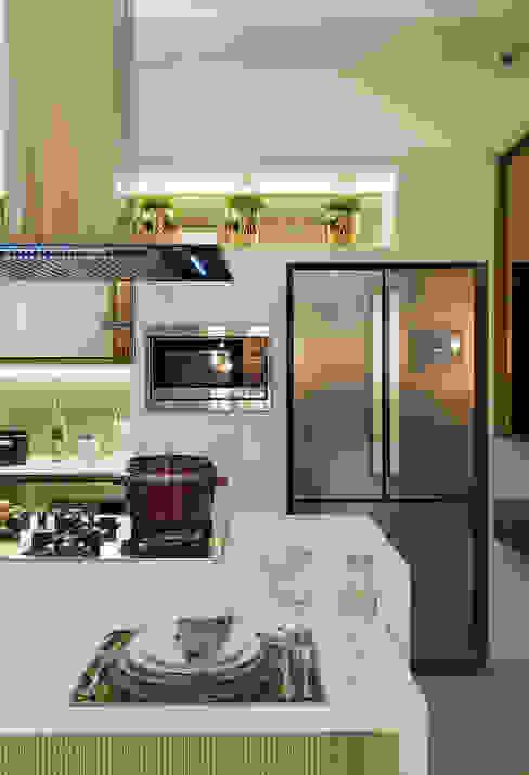 Cozinha Gourmet Casa Cor ES Cozinhas modernas por daniela andrade arquitetura Moderno