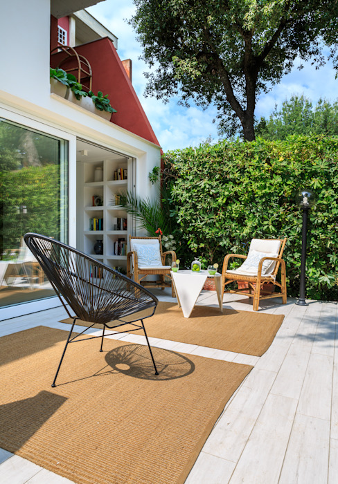 Jardines de estilo minimalista de Maurizio Giovannoni Studio Minimalista