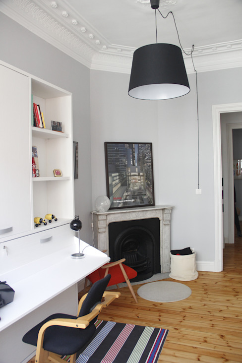 Dormitorio auxiliar Dormitorios de estilo clásico de ABD Clásico