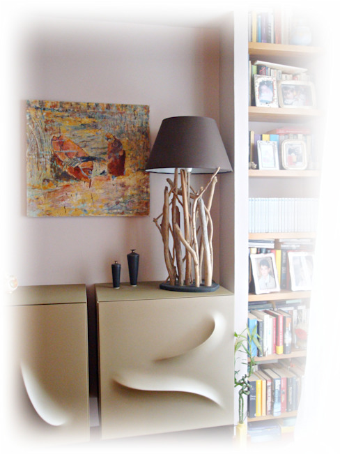INTRIGUES table lamp with driftwood von Tendance nature Ausgefallen Holz Holznachbildung