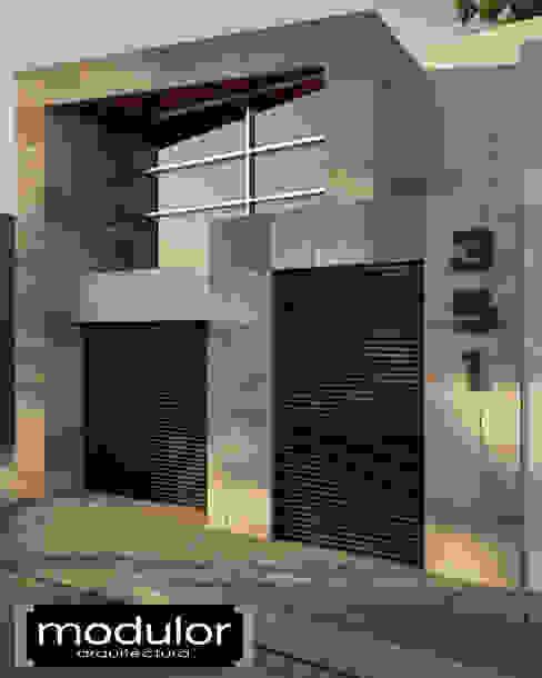 Häuser von Modulor Arquitectura, Modern Schiefer