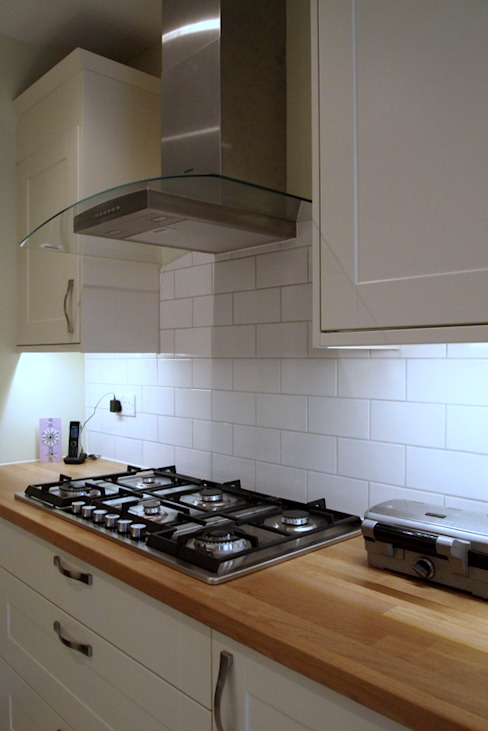 Single Storey Extension Butler Road Harrow Klasyczna kuchnia od London Building Renovation Klasyczny