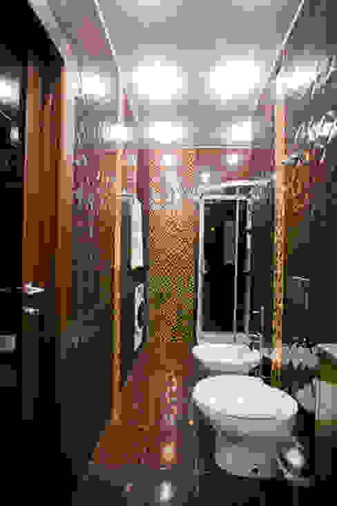 ул. Верхняя Масловка г.Москва Ванная комната в стиле модерн от Designer Olga Aysina Модерн