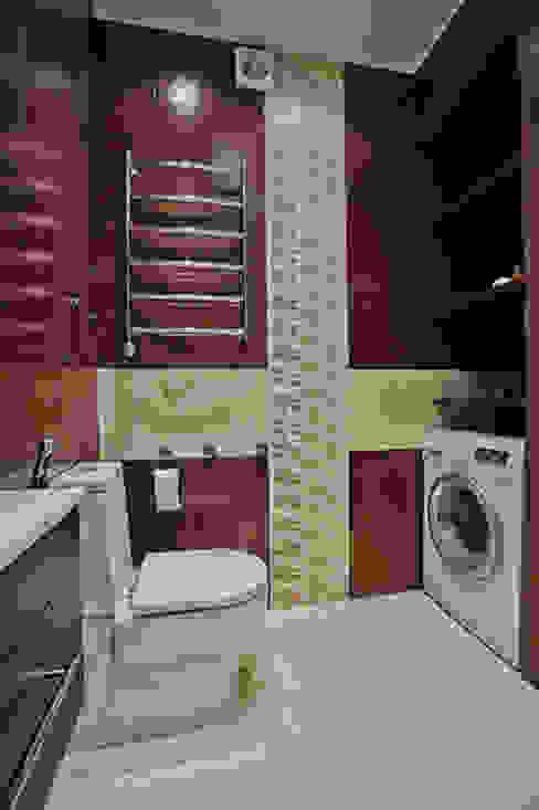 Designer Olga Aysina의  욕실, 에클레틱 (Eclectic)
