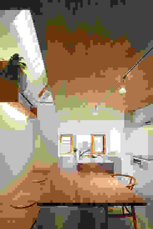 白金の家 北欧デザインの ダイニング の アトリエ スピノザ 北欧