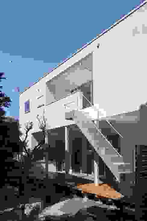 Projekty,  Domy zaprojektowane przez アトリエ スピノザ, Nowoczesny