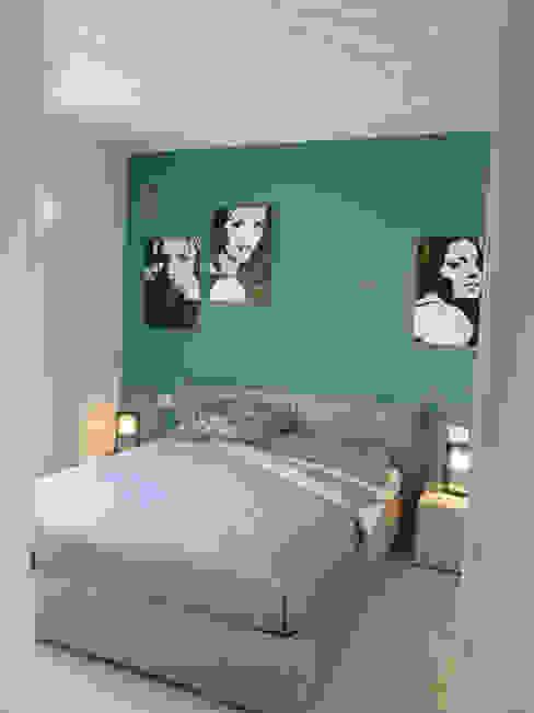 PASSIVHAUS [BOLGARE – BG] www.marlegno.it – Progetto: Arch. Luca Barcella Camera da letto moderna di Marlegno Moderno