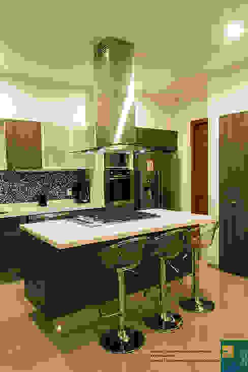 cocina Cocinas modernas de Excelencia en Diseño Moderno Derivados de madera Transparente