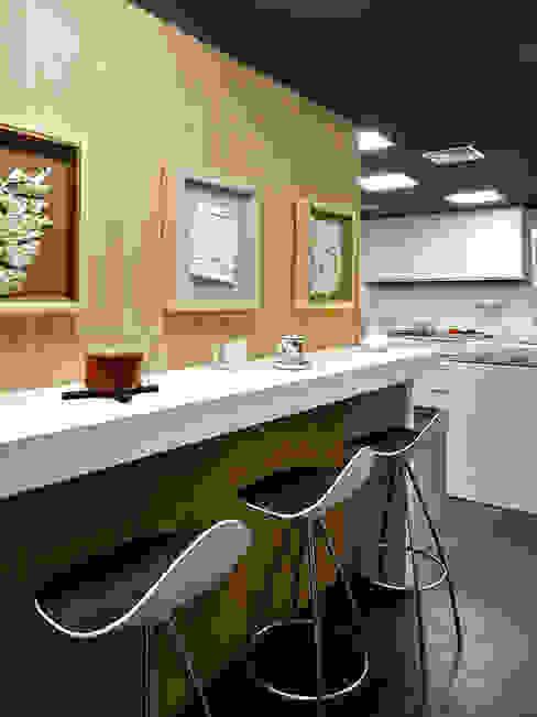 Piso Turó Parc, Barcelona Cocinas de estilo moderno de Deu i Deu Moderno
