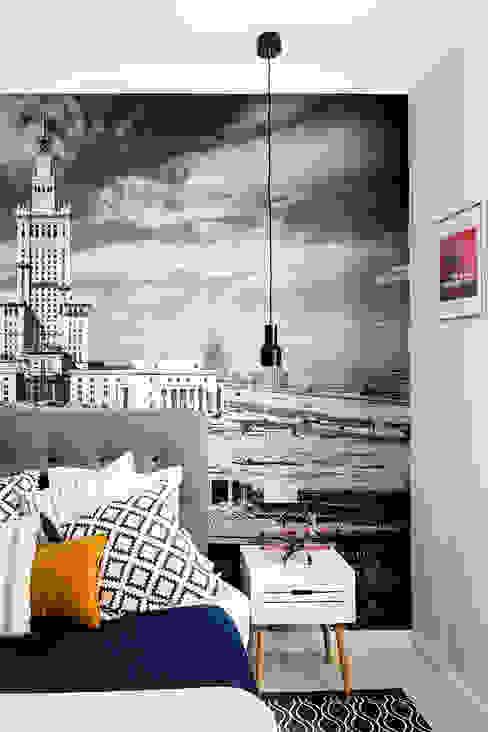 Dagmara Zawadzka Architektura Wnętrz Camera da letto eclettica