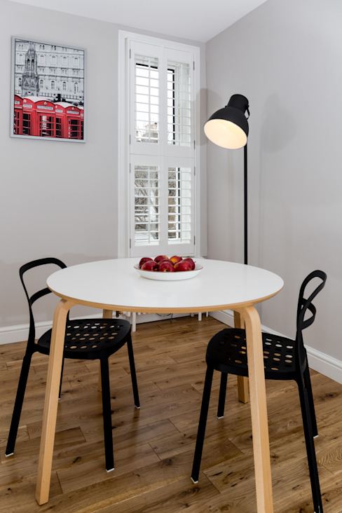 Landcroft Road - East Dulwich Oakman Classic style dining room
