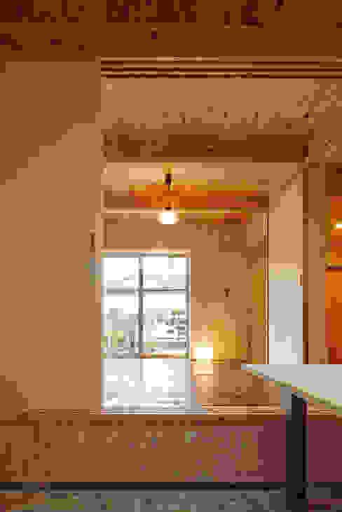 井上貴詞建築設計事務所 Minimalist living room