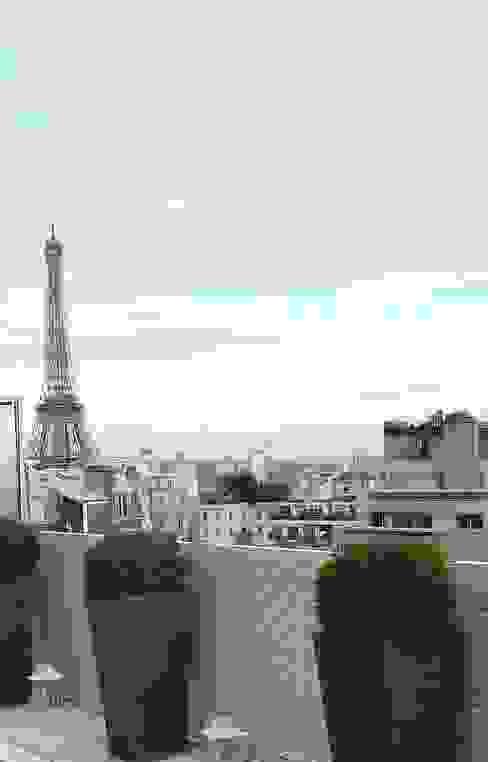 Balcon, Veranda & Terrasse modernes par homify Moderne Aluminium/Zinc
