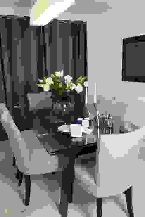 Contemporary Dining Room Comedores de estilo moderno de Katie Malik Interiors Moderno