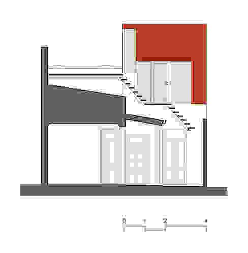 Minigimnasio: Gimnasios de estilo  por Paschetta&Cavallero Arquitectos,Industrial