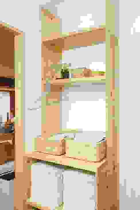 Minimalist style bathroom by すまい研究室 一級建築士事務所 Minimalist