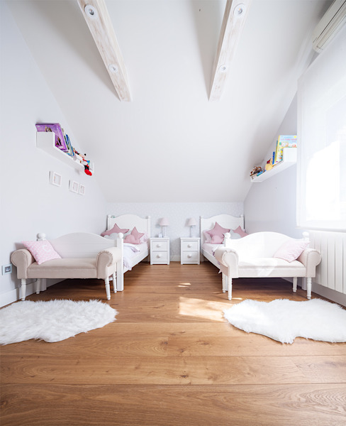 Nursery/kid's room by Tarimas de Autor, Modern Wood Wood effect