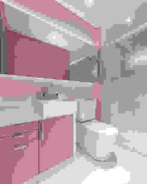 Baños de estilo moderno de Modulo2 Arquitetos Associados. Moderno Cuarzo