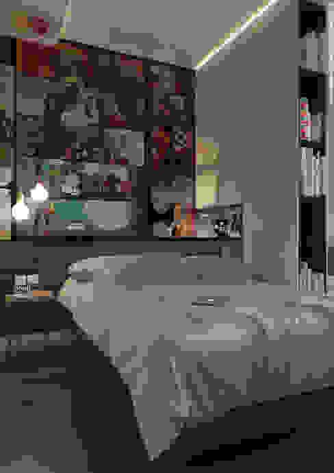 MARVELROOM Спальня в стиле минимализм от Shevchenko_Nikolay Минимализм