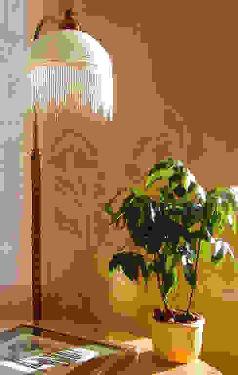Wandschablone Blumen ab-design GmbH Mediterrane Wände & Böden