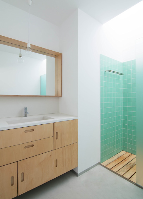 Casa GL: Casas de banho  por Estudio ODS,Minimalista