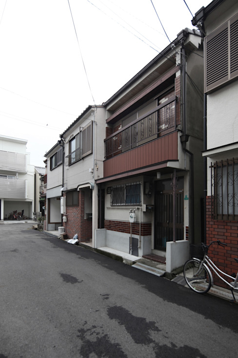 以前の外観 日本家屋・アジアの家 の atelier m 和風