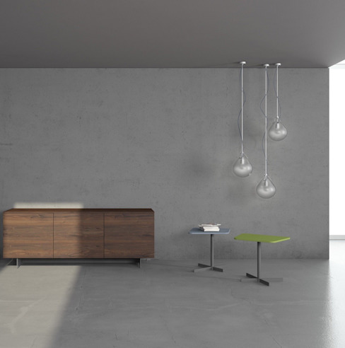 Paredes y pisos minimalistas de Inmateria Minimalista