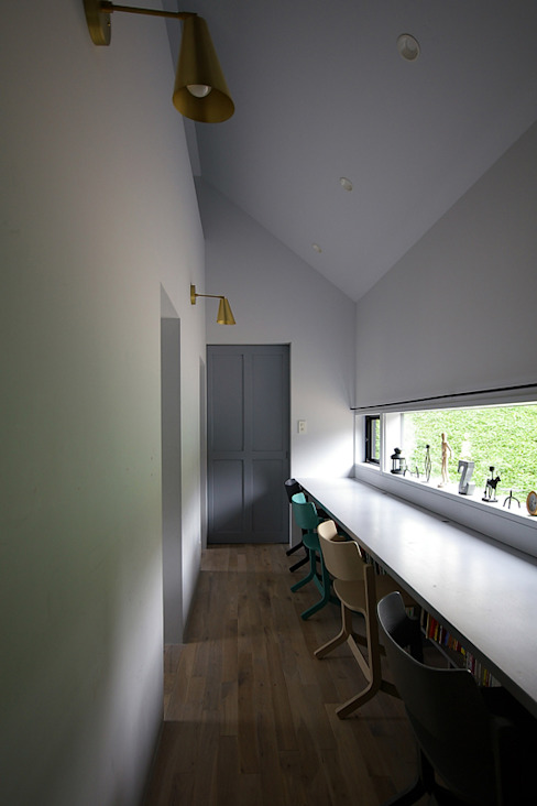 Детская комната в стиле лофт от 小林良孝建築事務所 Лофт