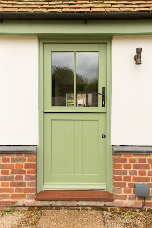 Back door Classic style windows & doors by The Wood Window Alliance Classic Wood Wood effect