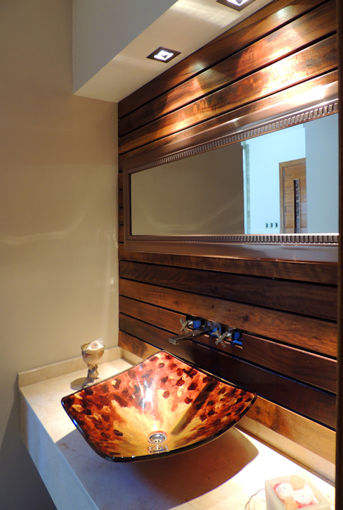 Bathroom by Carbone Fernandez Arquitectos, Modern