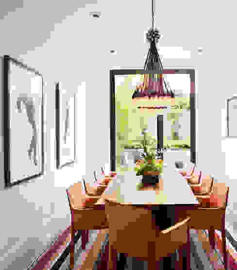 Casa em Sao Francisco Salas de jantar ecléticas por Antonio Martins Interior Design Inc Eclético