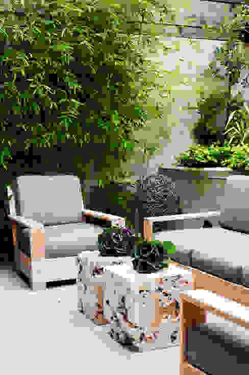 Casa em Sao Francisco Jardins ecléticos por Antonio Martins Interior Design Inc Eclético