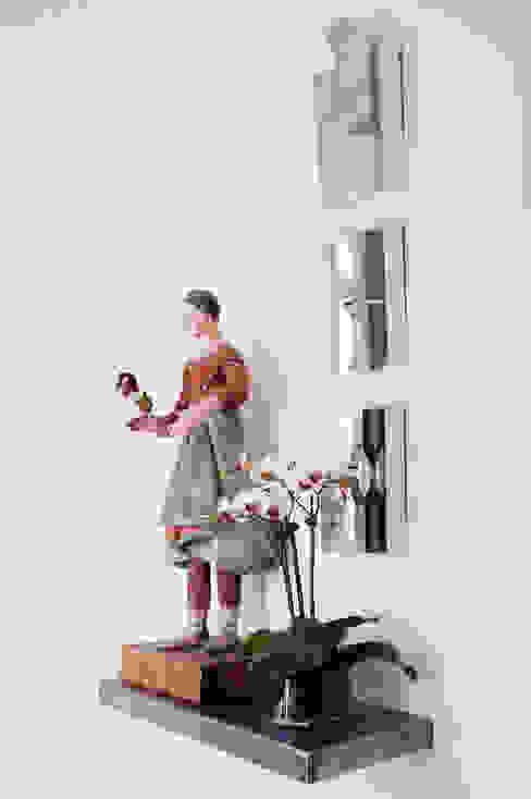 Casa em Sao Francisco - Potrero Hill Corredores, halls e escadas ecléticos por Antonio Martins Interior Design Inc Eclético