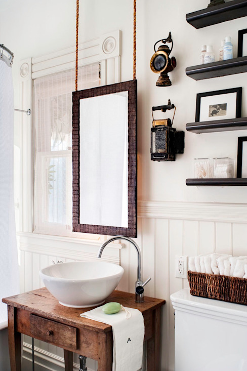Antonio Martins Interior Design Inc Eclectic style bathroom