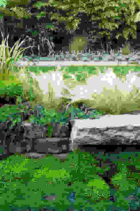 Casa em Sao Francisco - Potrero Hill Jardins ecléticos por Antonio Martins Interior Design Inc Eclético