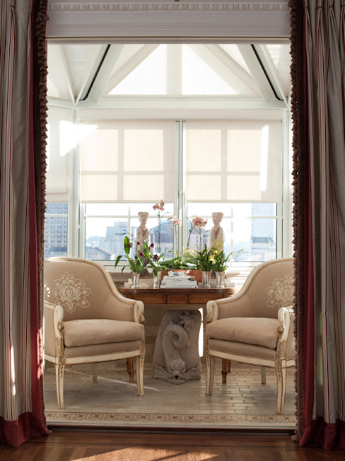 Classic style conservatory by Antonio Martins Interior Design Inc Classic