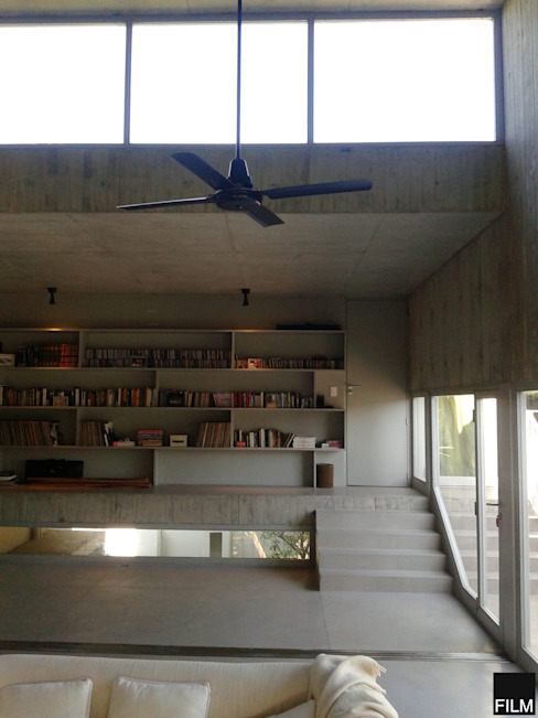 Study/office by FILM OBRAS DE ARQUITECTURA, Modern Concrete