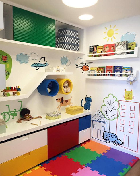 Duplex Interiores Modern nursery/kids room