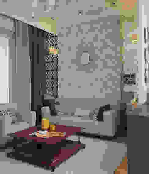 Апартаменты в Сочи Гостиная в классическом стиле от Decor&Design Классический