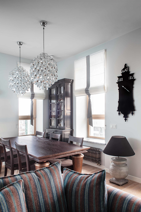 """Квартира """"Лофт с видом"""" Столовая комната в стиле лофт от Архитектор Татьяна Стащук Лофт"""