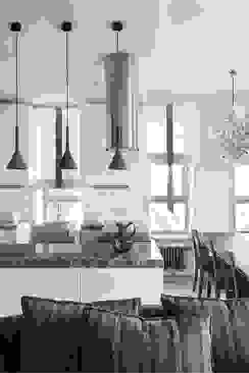 """Квартира """"Лофт с видом"""" Кухня в стиле лофт от Архитектор Татьяна Стащук Лофт"""