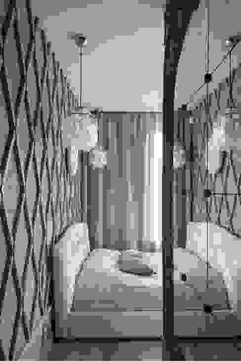 """Квартира """"Лофт с видом"""" Спальня в стиле лофт от Архитектор Татьяна Стащук Лофт"""