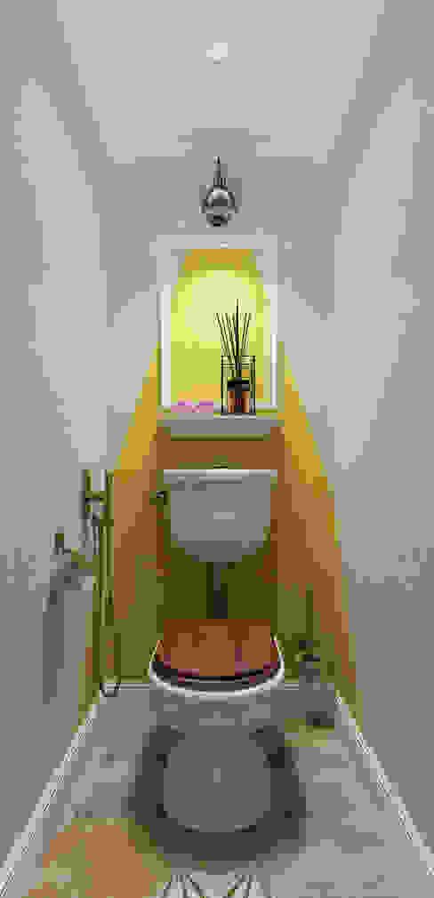 EEDS дизайн студия Евгении Ермолаевой Eclectic style bathroom