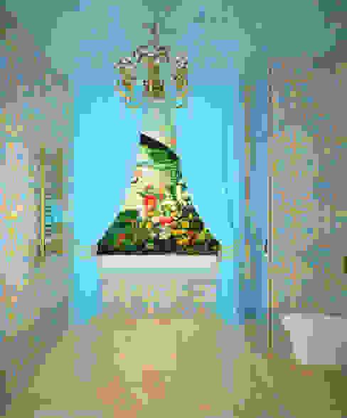 Casas de banho clássicas por Елена Савченко. Студия интерьера Clássico