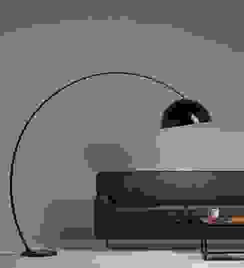 Semi Arco: Livings de estilo  por Angelo Luz + Diseño